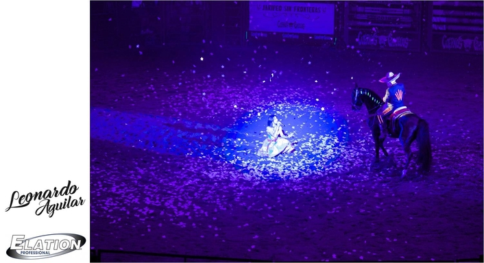 """Pepe Aguilar's """"Jaripeo"""" Mixes Tradition with Contemporary Elation Lighting"""