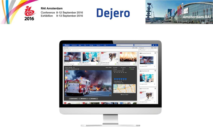 Dejero Brings Cloud-managed IP Connectivity and Workflow Interoperability to Amsterdam