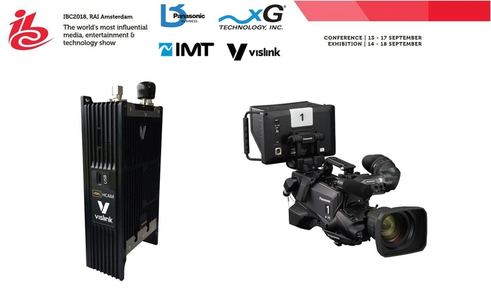 IMT Vislink Announces Joint Collaboration With Panasonic At IBC2018