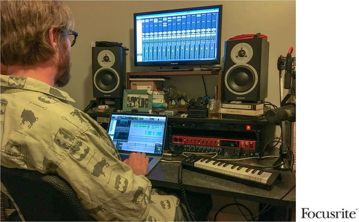 Accomplished Podcast Engineer John DeLore Chooses Focusrite Clarett 8Pre USB Interface to Upgrade His Workflow