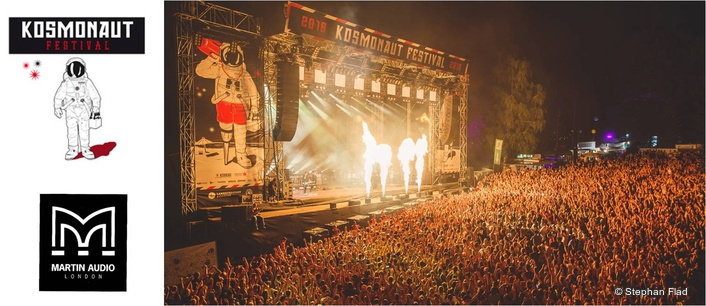 Complete Audio recently returned to the main stage at Kosmonaut Festival in Saxony which they have been servicing since the inaugural event in 2014.