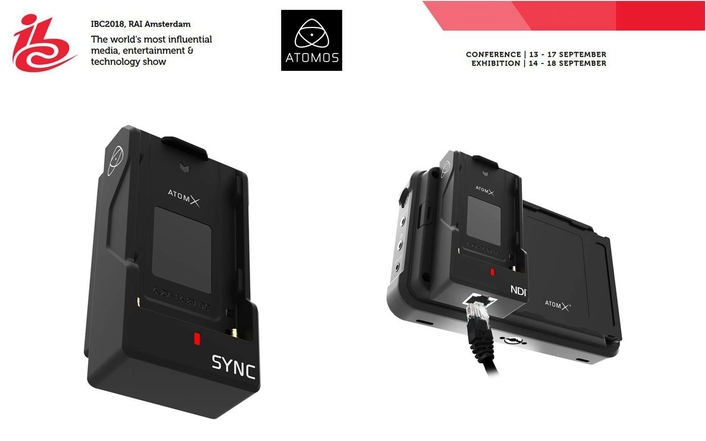 Atomos Ninja V ready to ship, innovative new AtomX Sync and AtomX Ethernet/NDI modules announced