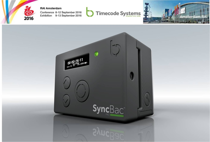 Timecode Systems Reveals Updated Product Range and New Pricing at IBC2016