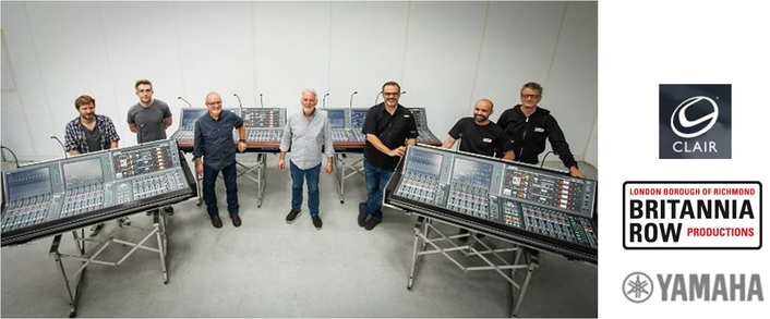 Britannia Row Productions and Clair Global Invest In Yamaha RIVAGE Mixing Systems