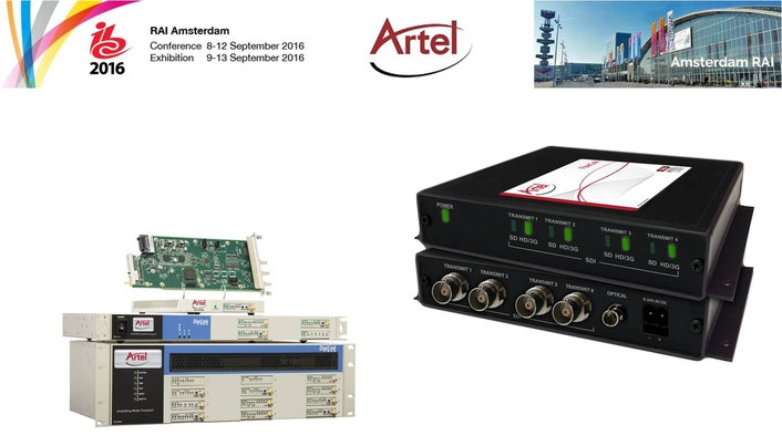 Artel Video Systems IBC2016 Product Preview