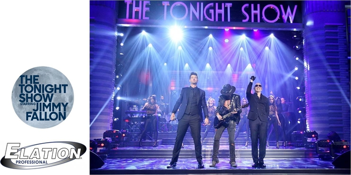 """Elation ACL 360 Roller™ Features on Pitbull """"Tonight Show Starring Jimmy Fallon"""" Performance"""