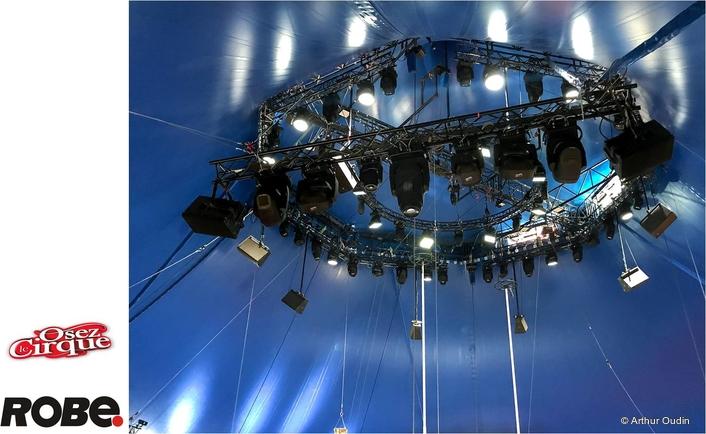 Arlette Gruss Circus in the RoboSpot Light