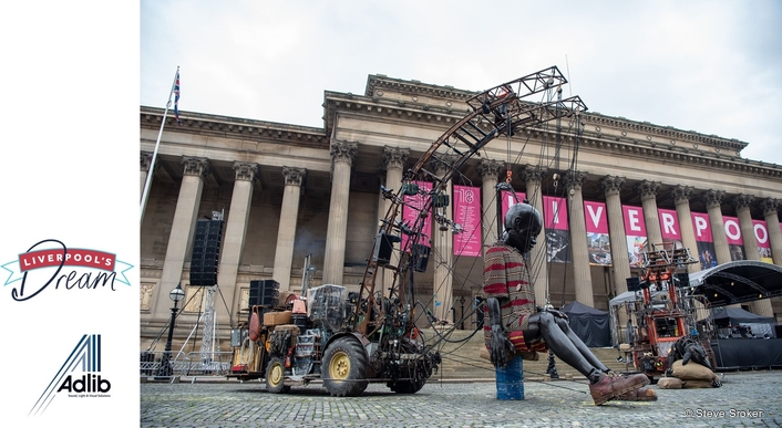 Adlib Walks with the Giants for Liverpool's Dream