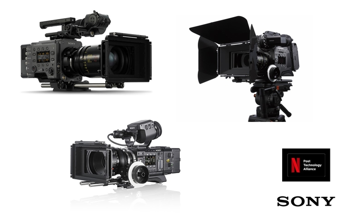Seven Sony flagship cameras join Netflix's Post Technology Alliance