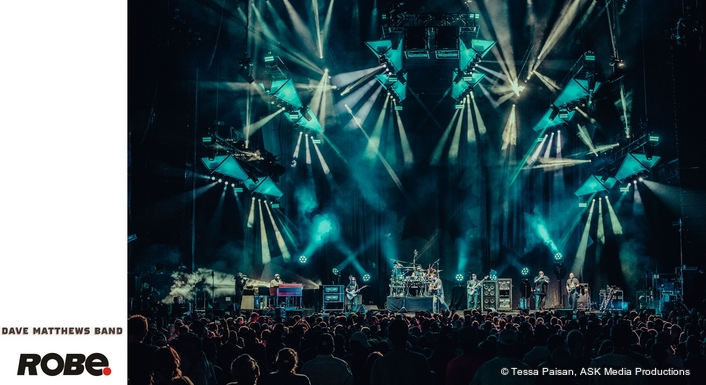 Robe Shines Tomorrow with the  Dave Matthews Band