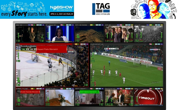 TAG V.S. Reveals Plans to Raise the Resolution at NAB2019 with Support for Advanced Formats