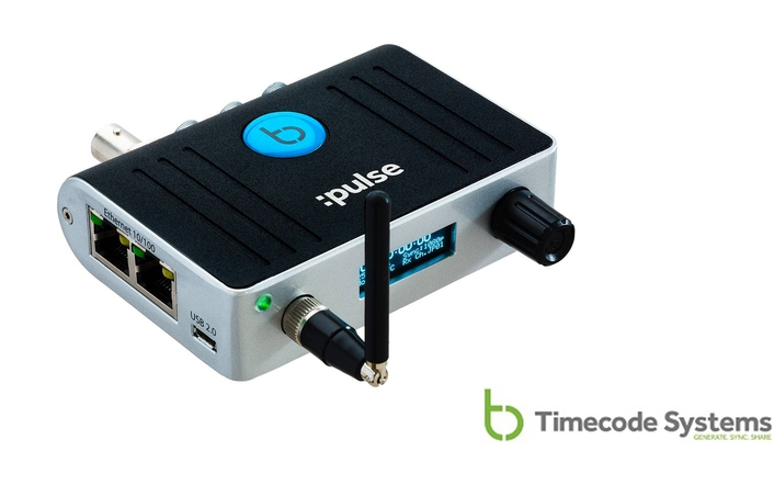 Timecode Systems Makes Multicamera Sync and Control Easy With the :pulse