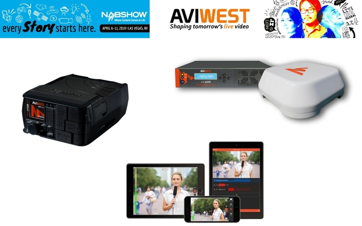 AVIWEST at the NAB2019