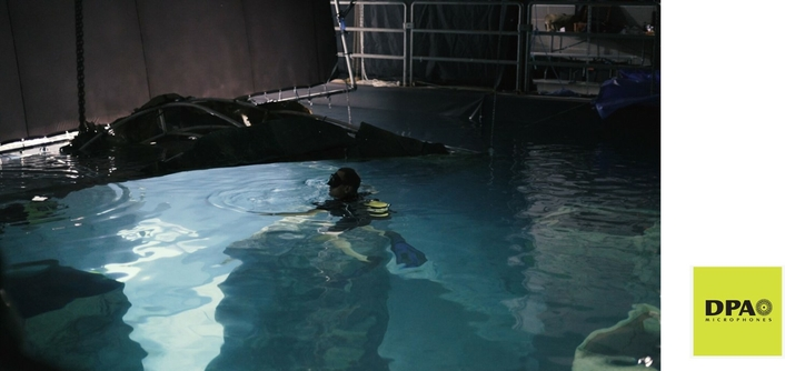 Recording Dialogue Underwater Is Not Impossible With DPA Microphones
