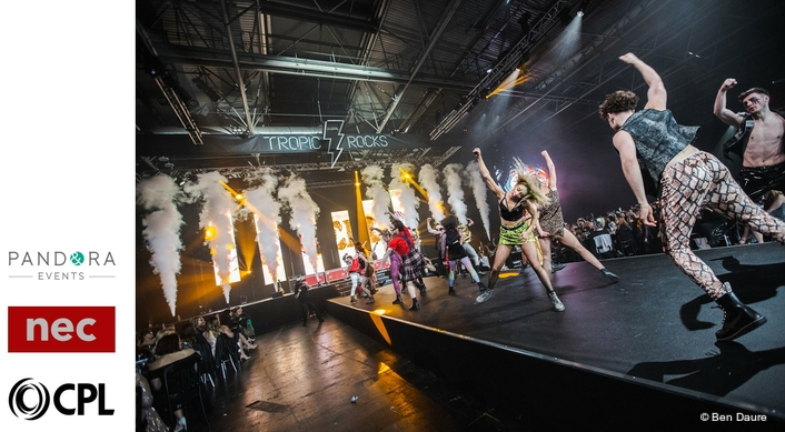 CPL Adds Glam Rock Production  for Tropic Event