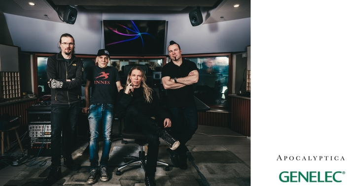 Apocalyptica and Genelec form a Finnish alliance