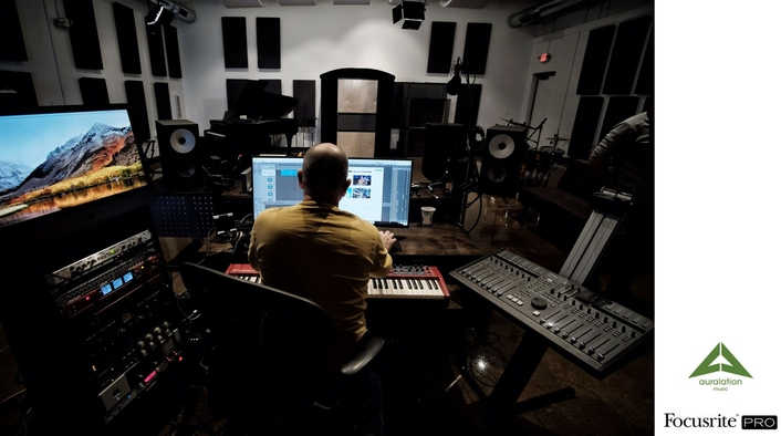 Focusrite Lets Auralation Music Connect All The Dots in the Studio for Reality TV Sound Production and Beyond