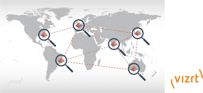 Vizrt efficiently connects multiple sites with new federated search in Viz One