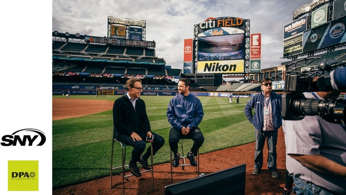 DPA Hits it Out of the Park for New York Mets Pregame Broadcasts