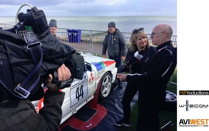 HM Productions Broadcasts the 2019 Corbeau Seats Rally Live With AVIWEST Solutions