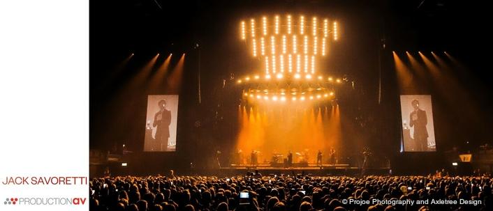 Production AV Kit is 'IMAGic' for Jack Savoretti at Wembley