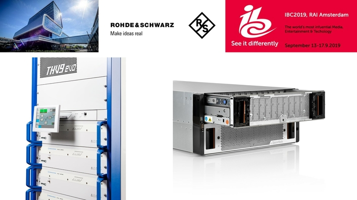 IBC2019: Rohde & Schwarz shows 5G Broadcast enabling technology, Monitoring-as-a-service, IP-Multiviewers and even more innovations within its storage, mastering and distribution solutions