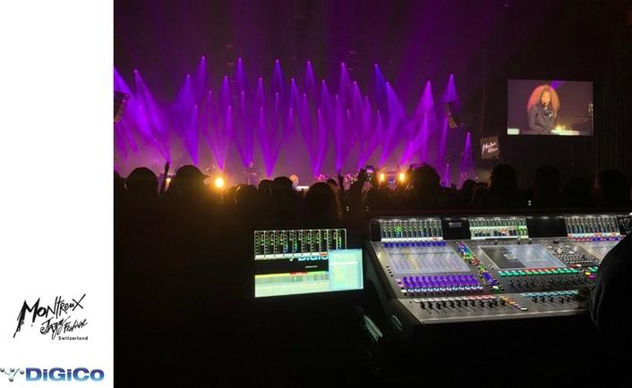 DiGiCo makes Quantum leap at Montreux jazz festival