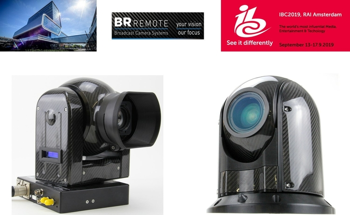 IBC2019: BR Remote reveals the AC180 – a new multi-function remote PTZ camera for productions outdoors and on water