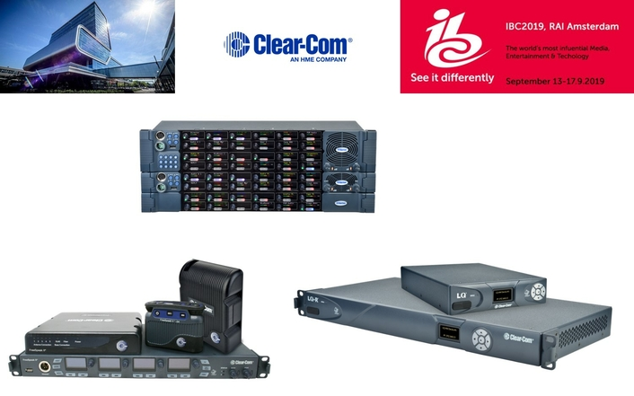Clear-Com Showcases Leadership In Complete IP-Based Intercom Solutions At IBC2019