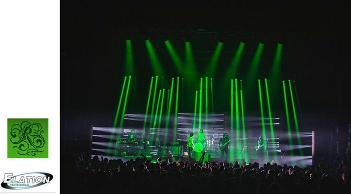 Elation's dynamic DARTZ™ for The Raconteurs Tour