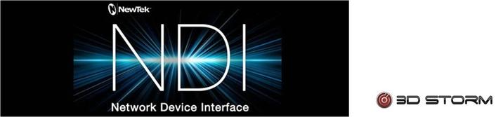 3D Storm - LiveXpert Advances Software-Driven IP Workflows With NewTek NDI