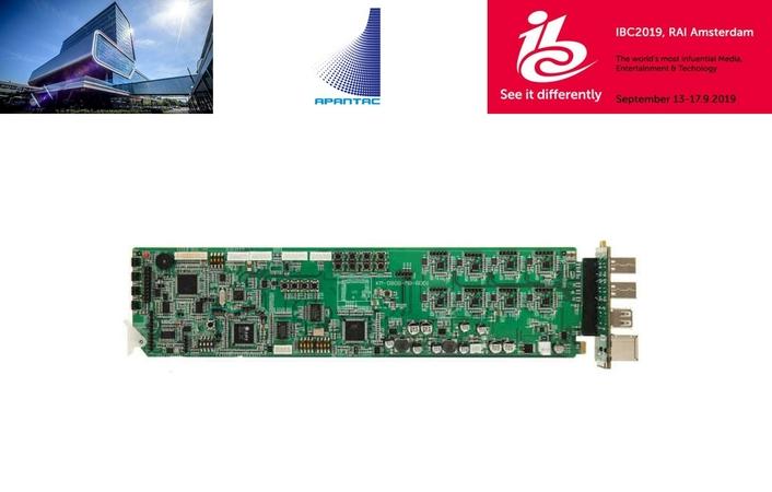 Apantac Showcases KVM over IP at IBC2019