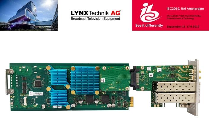 LYNX Technik Announces 8K SDI <> Fiber Converter at IBC2019