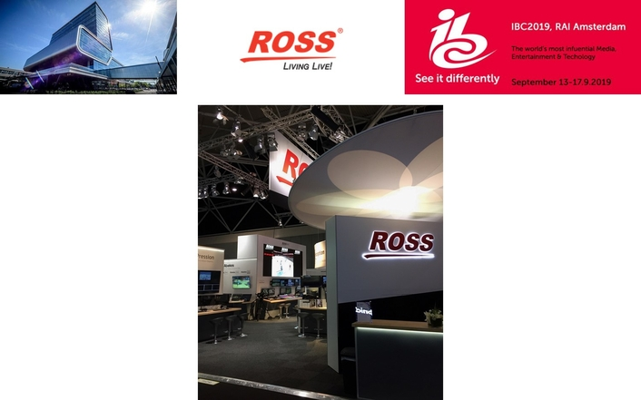 Ross Brings High Impact, High Efficiency Production to IBC2019