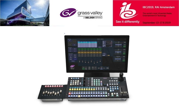 Grass Valley Launches Kula AV at IBC2019 to Deliver Powerful All-in-One Production Switcher for Smaller Operations