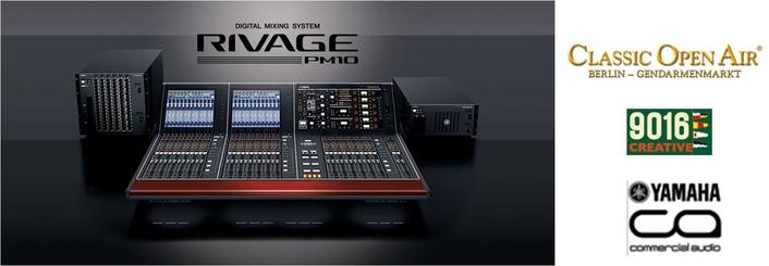 Two Yamaha RIVAGE PM10s Mix Prestigious Berlin Festival