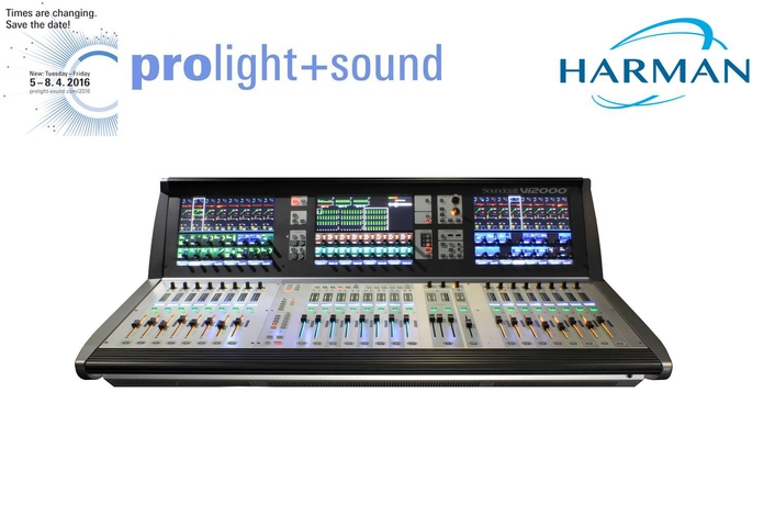 Soundcraft by HARMAN Introduces Vi2000 Digital Audio Console at Prolight + Sound 2016