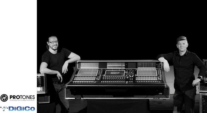 Key-supplier invests in first DiGiCo SD7 Quantum for Germany