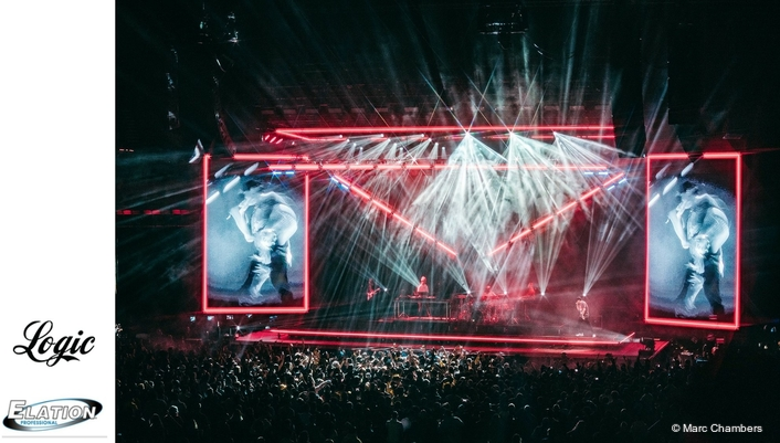 Mitchell Schellenger and Artiste Monet™ Shine on Logic tour
