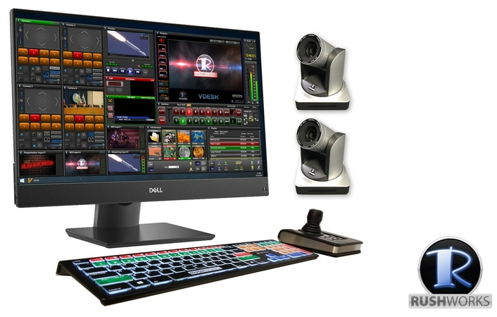 RUSHWORKS introduces REMO NDI Portable Touchscreen PTZ Production System