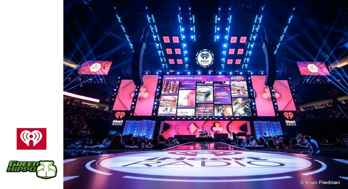 Hippotizer Boreal+ is Beat Perfect at iHeartRadio Vegas