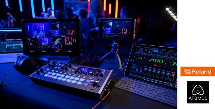 Atomos and Roland collaboration streamlines control of live, multicamera content capture