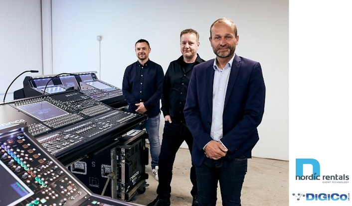 Nordic Rental makes biggest ever console purchase, investing in DiGiCo SD12s, SD10s and SD5s