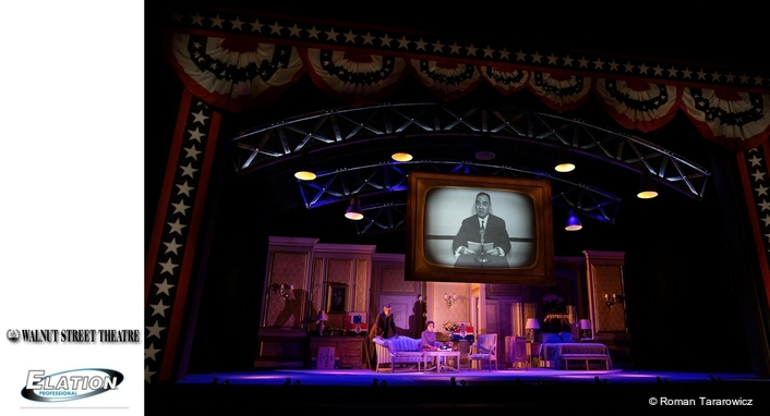 Artiste Picasso™ for The Best Man at historic Walnut Street Theatre