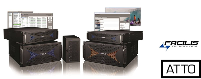 ATTO Technology's New 32Gb Gen 6 Fibre Channel HBAs Powers Facilis TerraBlock Storage