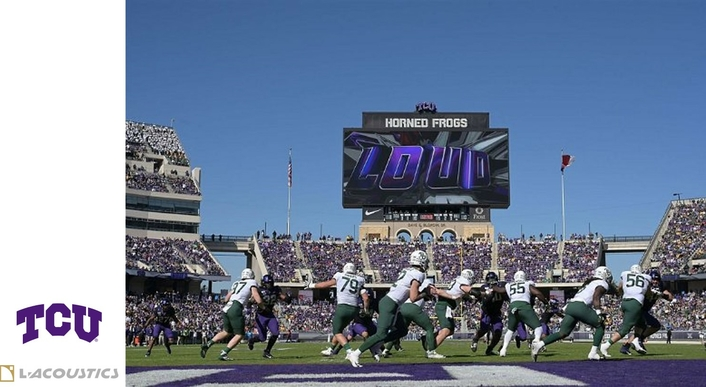TCU's Horned Frogs Take a Major Leap in Sound with L-Acoustics