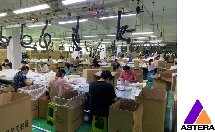 Astera Factory Assists with Global Face Mask Supply
