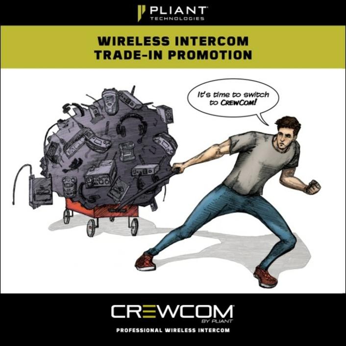 Pliant Technologies Announces Wireless Intercom Trade-In Promotion