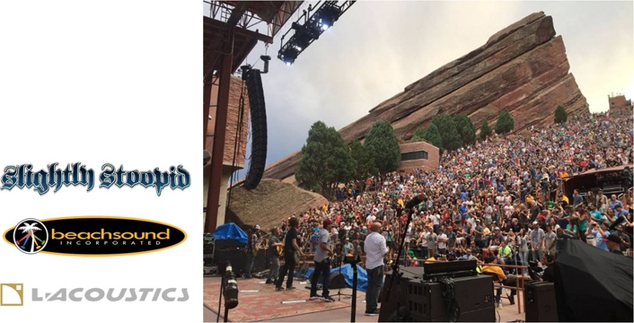 Slightly Stoopid Wisely Tours With L-Acoustics K2