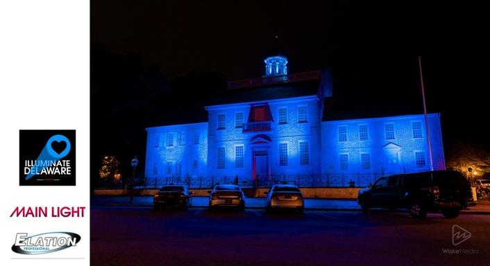 "Main Light Industries sponsors ""Illuminate Delaware"" tribute"